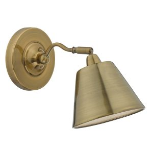 Kempten Wall Light Antique Brass