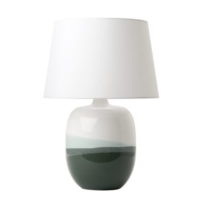 Lautaro Table Lamp Ceramic & Green Base Only
