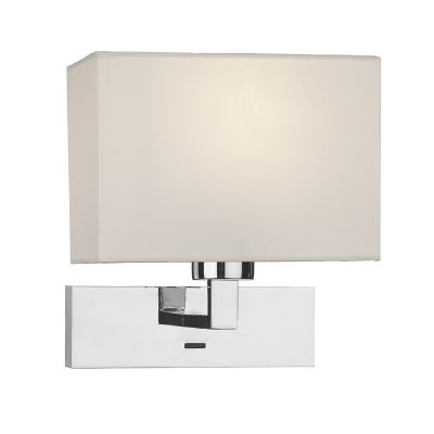 Modena Wall Light In Polished Chrome (Bracket Only)