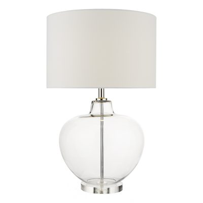 Moffat Table Lamp Base Only Clear Glass