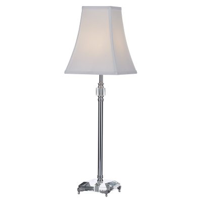 Noel Table Lamp Clear C/W Shade