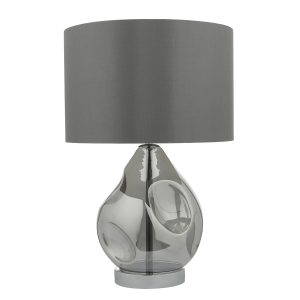Quinn Table Lamp Smoked C/W Shade