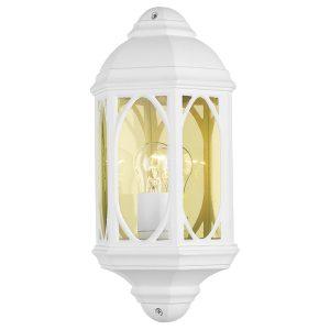 Tenby Wall Light White IP43