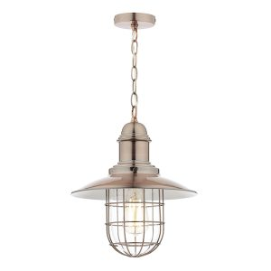 Terrace 1 Light Pendant Copper