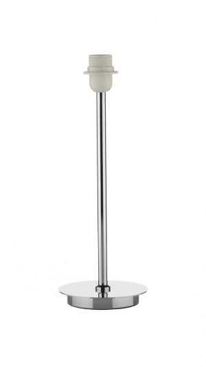 Tuscan Table Lamp Base Only Polished Chrome