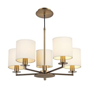 Tyler 5 Light Pendant Bronze