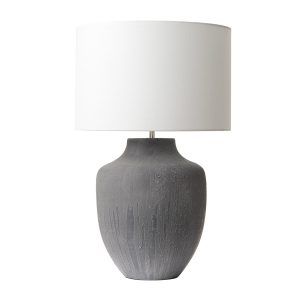 Udine Table Lamp Grey Base Only