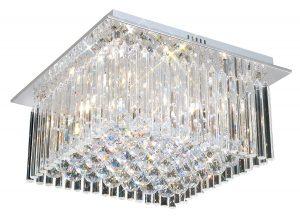 NLCB - Piazza 5 Light Crystal Flush