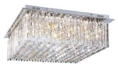 NLCB - Piazza 8 Light Crystal Flush