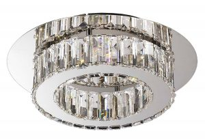 NLCB - Olympia LED Crystal Flush, Small