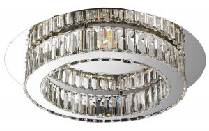 NLCB - Olympia LED Crystal Flush, Large
