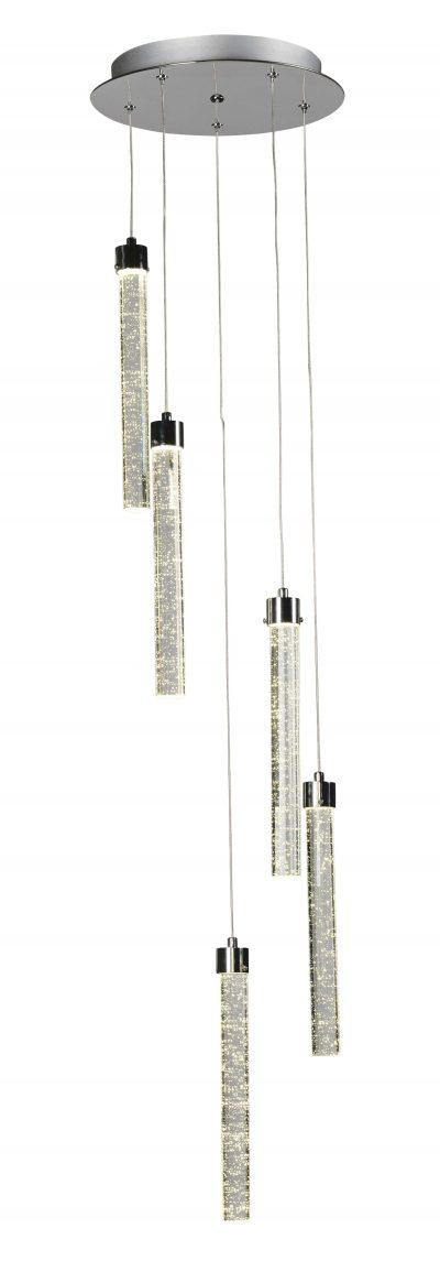 NLCB - Asta 5 Light LED Pendant, 3000K