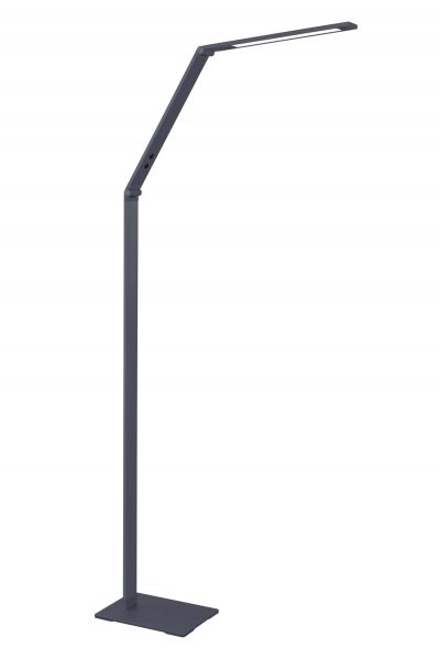 NLCB - Traction LED Floor Lamp, Graphite CCT with Touch Control