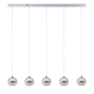 NLCB - Latitude 5 Light LED Bar Pendant