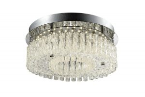 NLCB - Vela LED Crystal Ceiling Light, Small