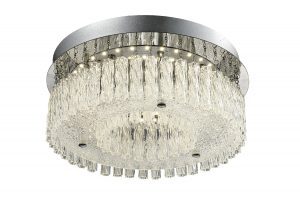 NLCB - Vela LED Crystal Ceiling Light, Medium
