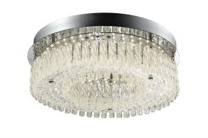 NLCB - Vela LED Crystal Ceiling Light, Large