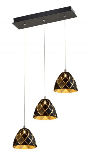 NLCB - Oblique 3 Light LED Bar Pendant