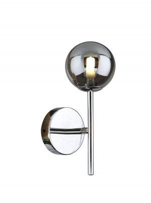 NLCB - Kugel Single Wall  Light Smoked Glass