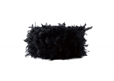 Diyas ILS10624 Arqus Feather Shade Black 250mm x 180mm