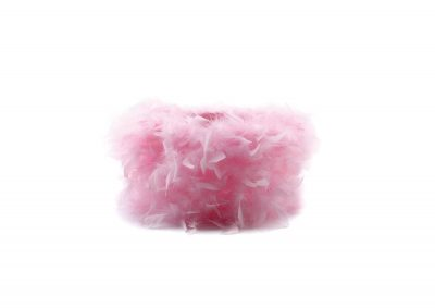 Diyas ILS10633 Arqus Feather Shade Pink 250mm x 180mm