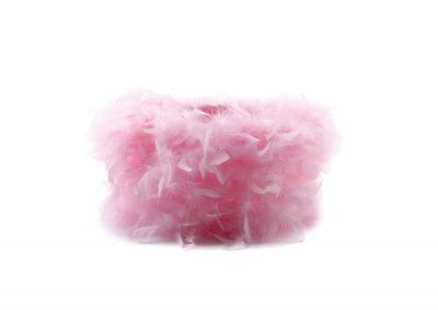 Diyas ILS10634 Arqus Feather Shade Pink 330mm x 200mm