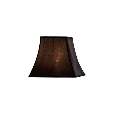 Diyas ILS20241 Contessa Square Small Shade Black 130/205mm x 185mm