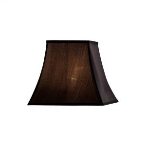 Diyas ILS20242 Contessa Square Small-Medium Shade Black 130/255mm 230mm