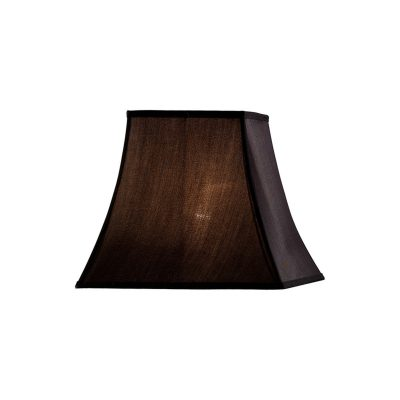Diyas ILS20242 Contessa Square Small-Medium Shade Black 130/255mm 230mm