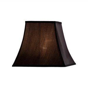Diyas ILS20243 Contessa Square Medium Shade Black 165/305mm x 270mm