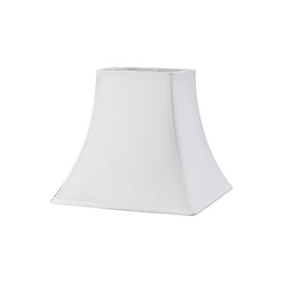 Diyas ILS20253 Contessa Square Medium Shade White 165/305mm x 270mm