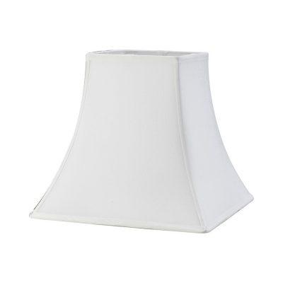 Diyas ILS20254 Contessa Square Large Shade White 190/355mm x 300mm