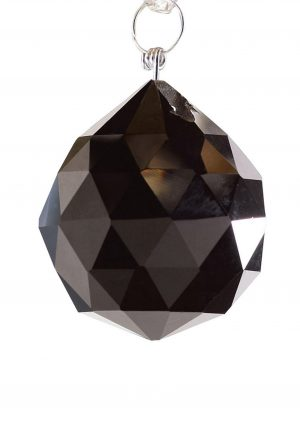 Diyas C10042 Crystal Sphere Without Ring Black 40mm
