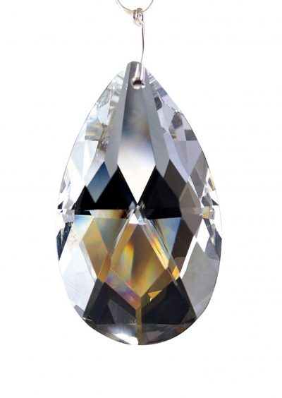 Diyas C20030 Crystal Pendalogue Without Ring Clear 38mm