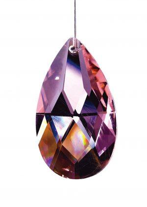 Diyas C20031 Crystal Pendalogue Without Ring Lilac 38mm