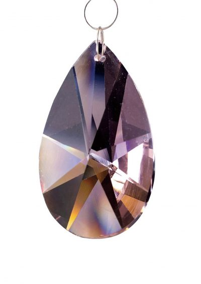 Diyas C20131 Crystal Star Pendalogue Without Ring Lilac 38mm