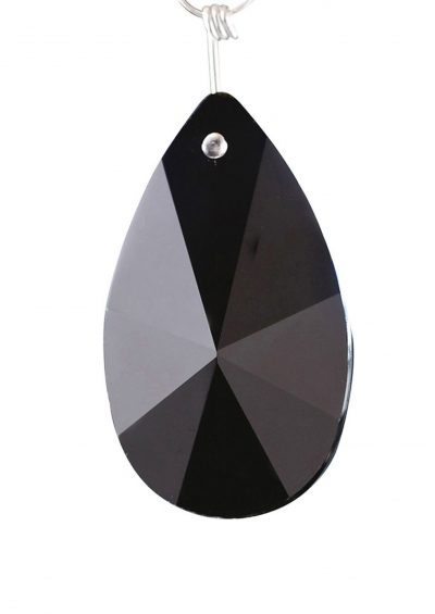 Diyas C20132 Crystal Star Pendalogue Without Ring Black 38mm