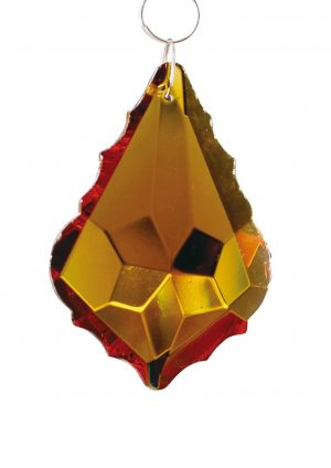Diyas C30043 Crystal Maple Without Ring Amber 38mm