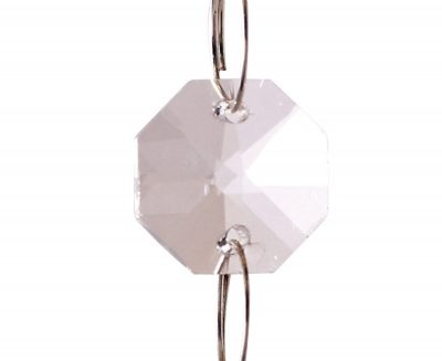 Diyas C50000 Crystal Octagon Without Ring Clear 14mm