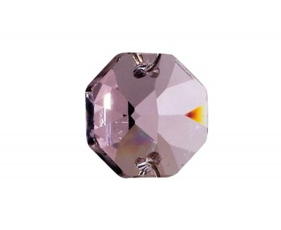 Diyas C50001 Crystal Octagon Without Ring Lilac 14mm
