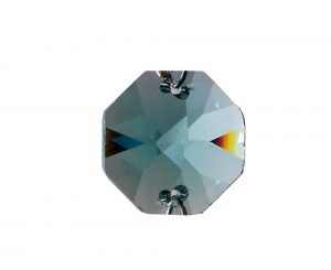 Diyas C50006 Crystal Octagon Without Ring Turquoise 14mm