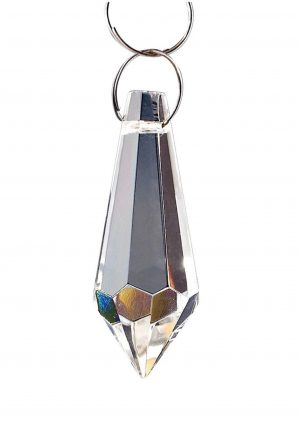 Diyas C70050 Crystal Drop Without Ring Clear 36mm