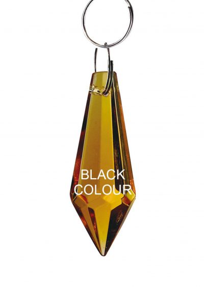 Diyas C70052 Crystal Drop Without Ring Black 36mm