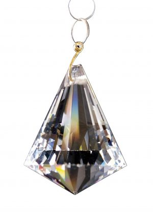 Diyas C70100 Crystal Pyramid Without Ring Clear 42mm