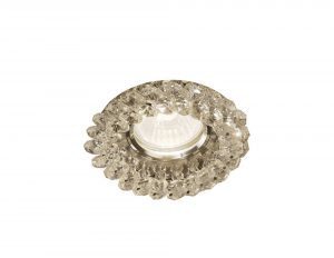 Diyas IL30805CH Crystal Cluster Downlight Round Rim Only Clear, IL30800 Required To Complete The Item
