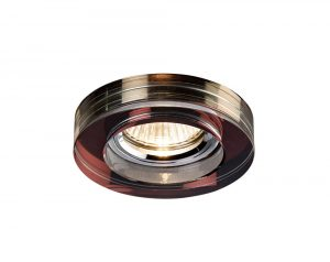 Diyas IL30821PU Crystal Downlight Deep Round Rim Only Purple, IL30800 Required To Complete The Item