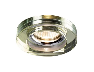 Diyas IL30821WI Crystal Downlight Deep Round Rim Only White Wine, IL30800 Required To Complete The Item
