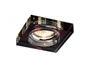 Diyas IL30822PU Crystal Downlight Deep Square Rim Only Purple, IL30800 Required To Complete The Item
