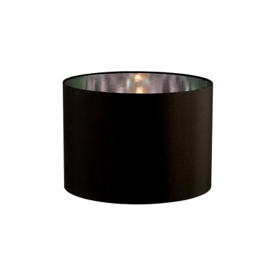 Diyas ILS20281 Duo Round Shade Small Black/Chrome 300mm x 220mm