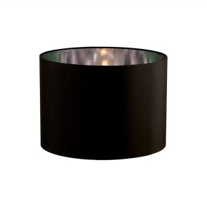 Diyas ILS20282 Duo Round Shade Medium Black/Chrome 350mm x 250mm